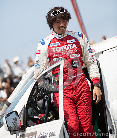 Jun Mitsuhashi Rally Dakar 2013 Editorial Stock Photo