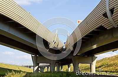 Junction of highways