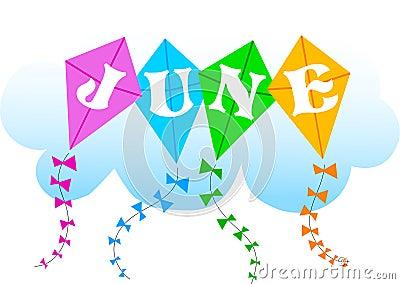 June Kites/eps