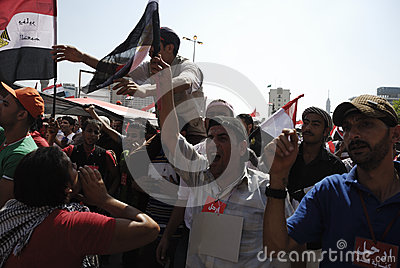 30 June Protests Against Morsi & Muslim Brotherhoo Editorial Photo