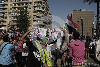 30 June Protests Against Morsi & Muslim Brotherhoo Editorial Photography