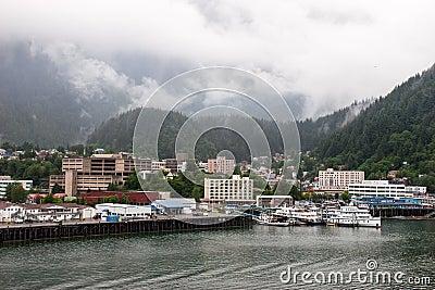 Juneau Alaska Editorial Stock Image