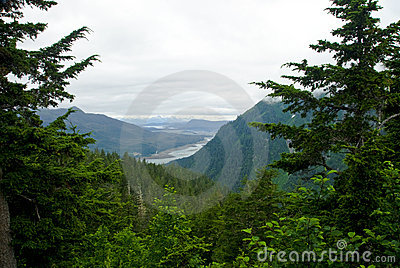 Juneau Alaska Mountain View