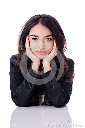 Junge Geschäftsfrau