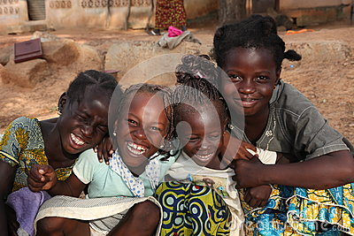 Junge Mädchen Redaktionelles Foto