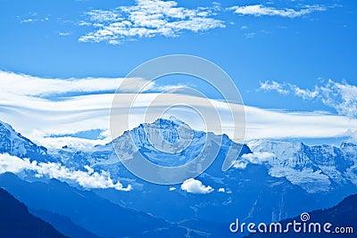 Jungfrau Mountain Range, Switzerland