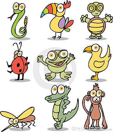 Jungle Cartoon Characters
