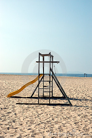 Jungle Gym on the Beach