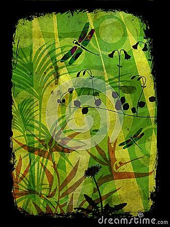 Free Jungle Illustration Stock Image - 1502911