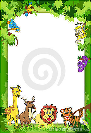 Jungle Invitation Royalty Free Stock Images Image 17030499