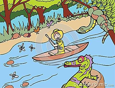 Jungle River Ride
