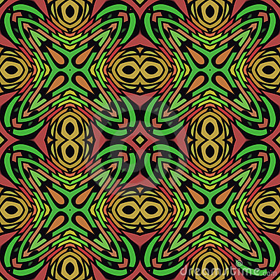 Jungle Seamless Pattern