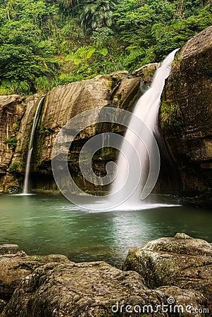 Free Jungle Waterfall Royalty Free Stock Photos - 11911938