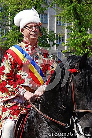 Juni Parade (Brasov/Romania) Editorial Photo