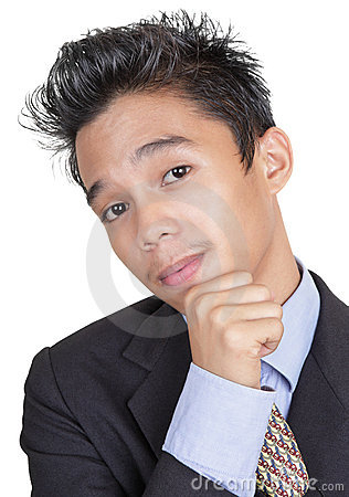 Junior businessman portrait
