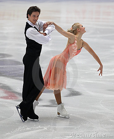 Junior Ice Dance competition Editorial Image