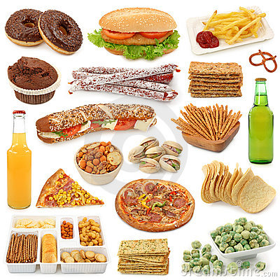 Free Junk Food Collection Stock Photography - 16245662
