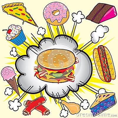 Junk food Explosion