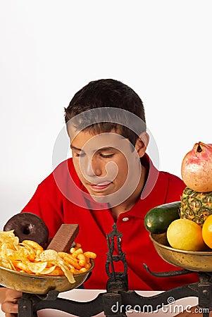 Junk food temptation