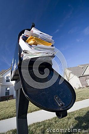 Free Junk Mail Stock Image - 1724051
