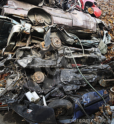Free Junk Yard Royalty Free Stock Photography - 6036807