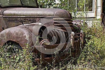 Junk Yard Truck