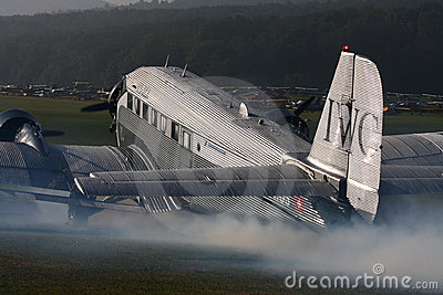 Junkers Ju-52 Editorial Photo