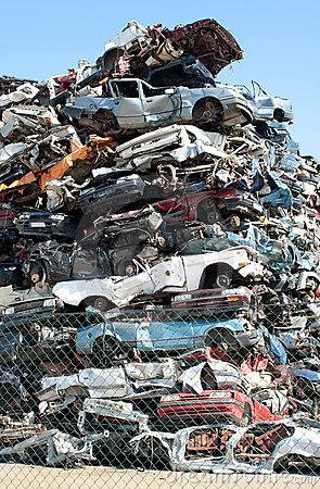 αυτοκίνητα junkyard