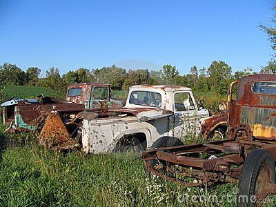 Junkyard Trucks