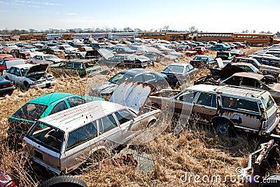 Junkyard wagons