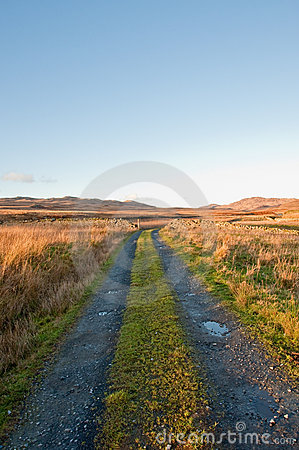 Jura Road Stock Images - Image: 14140404