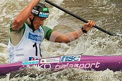 Jure Meglic paddling Editorial Image