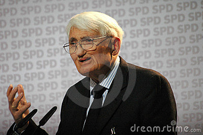 Jurgen Habermas Editorial Photo