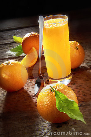 Jus D'orange Photos stock - Image: 22029723