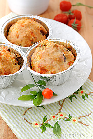 Free Just Baked Homemade Muffins Royalty Free Stock Photography - 24457597
