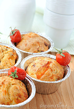 Free Just Baked Homemade Muffins Royalty Free Stock Photography - 24461657