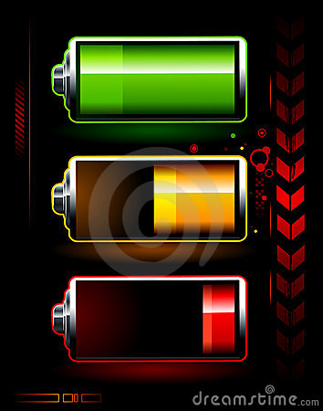 Free Just Batteries Stock Photo - 9613670
