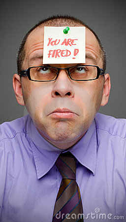 Just fired