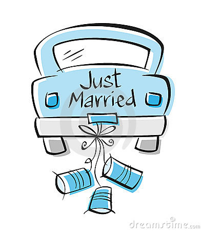 Just Married Royalty Free Stock Photography Image 16224607
