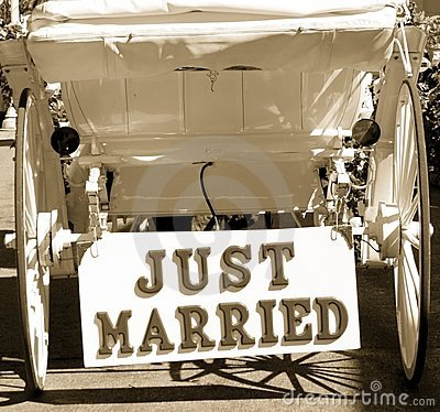 Free Just Married Royalty Free Stock Photos - 306558