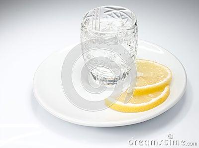 Just a shot of vodka