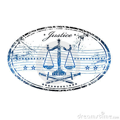 Justice rubber stamp