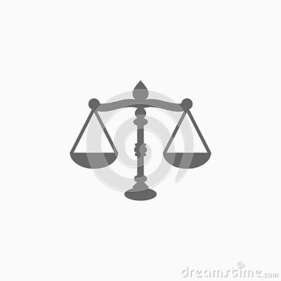 Free Justice Scales Icon, Government Vector Royalty Free Stock Photography - 137853547