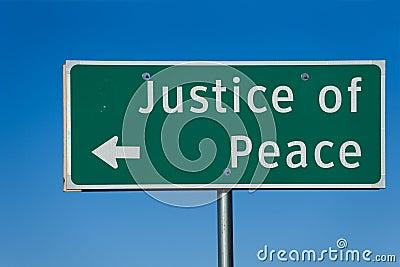 Justicia de la paz
