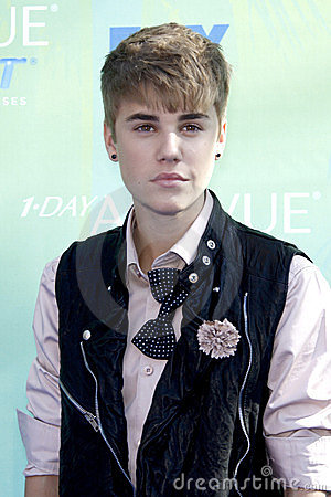 Justin Bieber Editorial Stock Photo