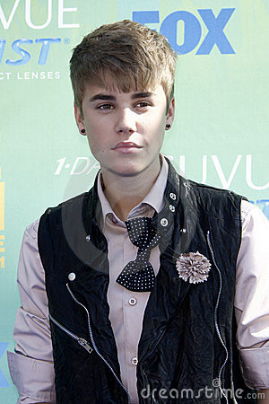 Justin Bieber Editorial Stock Photo