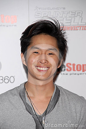 Justin Chon,The Game Editorial Image