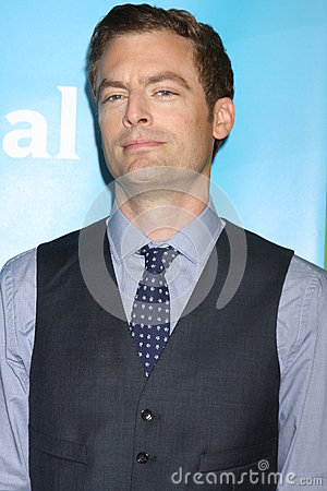 Justin Kirk Editorial Stock Image