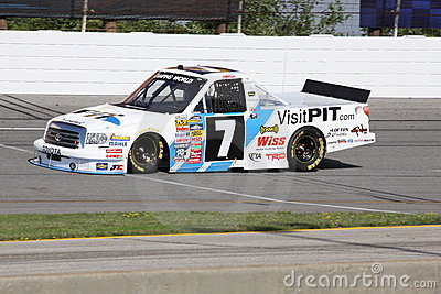 Justin Lofton 7 NASCAR Truck Series Qualifying ORP Editorial Image