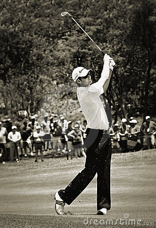 Justin Rose - Fairway Drive - NGC2010 Editorial Photo